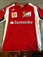 Puma Ferrari Scuderia Team Shirt Men's Size S