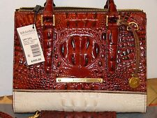 BRAHMIN COQUETTE ANYWHERE CONVERTABLE  & CHECKBOOK WALLET NWT