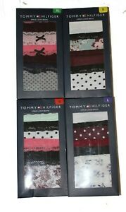 Tommy Hilfiger women Pack of 4 Cotton Lace Briefs Knickers Panties 10 12 14 16