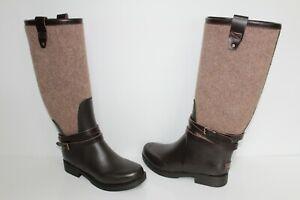 UGG Australia 1003931 CHO 6 Women Kopynne Tall Knee High Rain Boots Chocolate 6