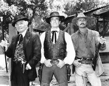 Hugh O'Brian, Gene Barry, John Schneider - Wyartt Earph - 8 1/2 X 11