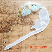 Butterfly Hair Pin Resin Silicone Mold - Transparent Resin Mould resin mold