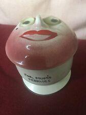 """Molto Insolito In Ceramica """"per la mamma's pearlies"""" con copertura faccia con commovente Eyeballs"""