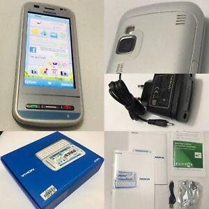 Original Nokia C6 C6-00 White Unlocked touch Smartphone NEW UNUSED LifeTimer 0
