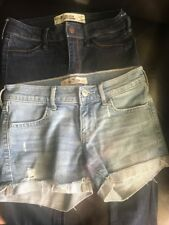 Hollister Jeans And Shorts Size 00 Great Condition!