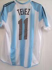 Argentina 2004-2005 Tevez 11 Home Football Shirt Size Medium /41639