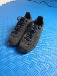 Nike Classic Cortez Blue Suede AA3839 001 Size UK 6 EU 40 Deadstock Ladies
