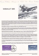 Document Philatélique Timbre 1er Jour : 11/10/ 1986 - Avion Wibault 283