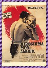 Tarjeta Postal Cartel de Película - HIROSHIMA MI AMOR