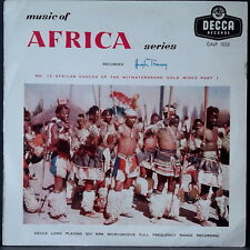MUSIC OF AFRICA SERIES NO. 12 AFRICAN DANCES OF...HUGH TRACEY GALLOTONE GALP1032