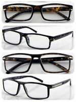 b5fd858d404 Superb Quality Classic Style Reading Glasses Turtle Shell   Large Frame  Design