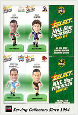 2008 Select NRL Color Figurine Collectable Trading CARDS Full Set (48)