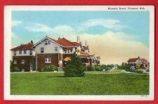 NEBRASKA - FREMONT, MASONIC HOME POSTCARD 533