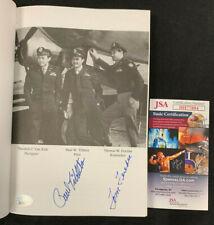 WORLD WAR II TIBBETS /FEREBEE ATOMIC BOMB HAND SIGNED ENOLA GAY BOOK JSA/COA