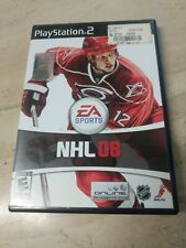 NHL 08 PlayStation 2 PS2 EA Sports