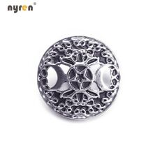 18mm Metal Snap Button Snap Charms Multi Pattern Fit 20mm Snap Jewelry 0135