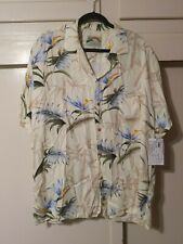 PARADISE FOUND Hawaiian Shirt Aloha Rayon NEW XL