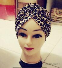 Lady Turban Hair-Style Indian Style Bandana Chemo Head Cover Hat Yoga Sport Cap