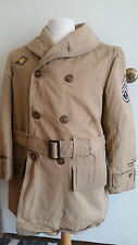 WW2 WWII Jeep Jacket,Macinaw,Named,Dog Tags,US,Fury,Tank,Coat,Original,Named ID