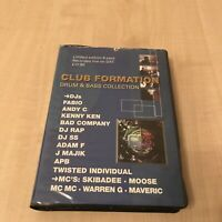 RAVE DRUM N BASS TAPE PACK CASSETTE BOX JUNGLE SET 8 TAPES CLUB FORMATION RARE