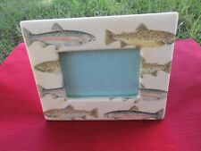 """Unique Fish 3 1/2"""" X 5"""" Picture Frame"""