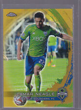 2014 Topps Chrome MLS Gold Refractors #29 Lamar Neagle 03/50