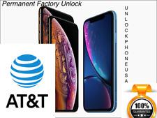 AT&T iPHONE 11 ProMax / 11 Pro / 11 / Xs / XsMax PREMIUM FACTORY UNLOCK SERVICE