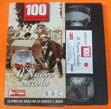 VHS film 1900-1913 IL NUOVO SECOLO 100 anni della nostra vita (F70) no dvd