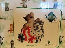 """Charming Tails """"I'M Betting On You"""" Dean Griff Nib"""