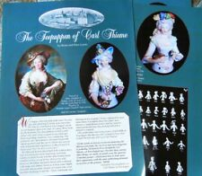 5p History Article + Pics -  Rare Antique Half Dolls of Carl Thieme