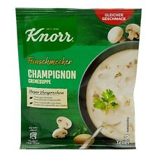 8x Knorr 🍲 Champignon Cremesuppe white mushrooms cream soup ✈TRACKED SHIPPING