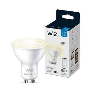 Wiz G10 Smart Bulb 50w LED light Warm White Dimmable 2700k Google Alexa Siri