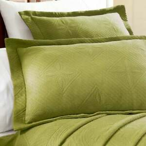 Superior 100% Cotton Jacquard Celtic Circles Bedspread Set - Twin - Sweet Pea