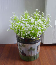 Set of 10 Bunches Baby'S Breath Spring Grass Artificial Plastic Flowers