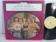 VIVALDI gloria PERGOLESE Magnificat VAUGHAN BAKER PARTRIDGE dir MARRINER 7404
