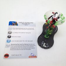 Heroclix The Brave and the Bold set Harley Quinn and Poison Ivy #053 Super Rare!