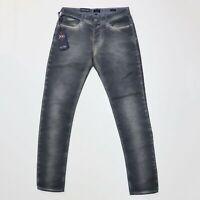 Armani Jeans J06 Slim Fit Light Dye Grey Jeans