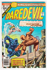 Daredevil King Size Annual #4, Marvel Comics, Bronze Age, 1976 Vg+