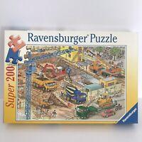 Ravensburger 200 piece puzzle 'On the Building site'