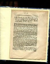 Edmund Halley :: original articla concerning Cassini ; and a Memoire concerni n