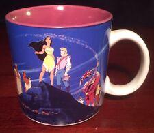Disney Pocahontas Coffee Mug w/Original Box Htf Vtg Meeko Rare Native American