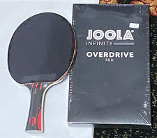 JOOLA INFINITY OVERDRIVE Ping Pong Paddle/Table Tennis Racket w/MICRON 48 Rubber