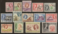 SOUTHERN RHODESIA 1953 DEFINITIVES TO £1 SG78/91 SUPERB USED