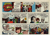 Steve Roper & Mike Nomad - full color Sunday comic page - February 8, 1976