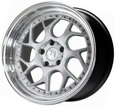 18x8.5/18x9.5 AodHan Ds01 5x114.3 +35/30 Silver Wheels (Set of 4)