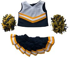 """Cheerleading Outfit for 15"""" Teddy Bear or Doll or Build A Bear 1 Dozen outfits"""