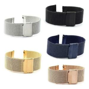 Replacement Watch Band Compatible Strap 12mm-24mm, Bracelet Watch bracelet Metal