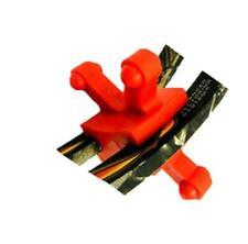 Bow Jaws BowJax Revelation Limb Dampener Red 15/16 in. 2 pk. Split Red Pse Bears