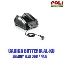 Caricabatteria Al-ko 36v 4 0ah Energy Flex moweo Soffiatore Trimmer tagliasiepe