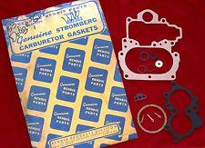 NOS STROMBERG WW GASKETS 1953-54  DODGE   BENDIX#  382363